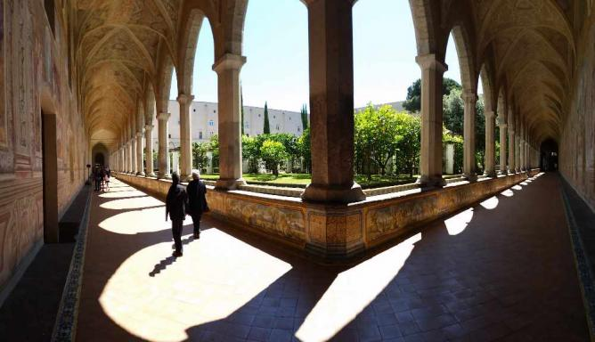 Basilica di Santa Chiara #napoli | © Antonio Manfredonio/Flickr