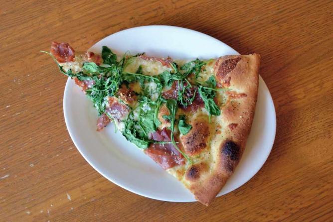 Prosciutto & Arugula Pizza | © jpellgen/Flickr