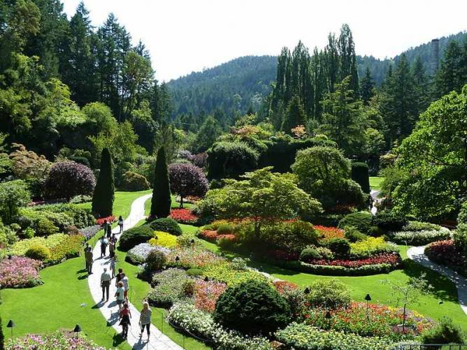 Butchart Gardens National Historic Site of Canada 6