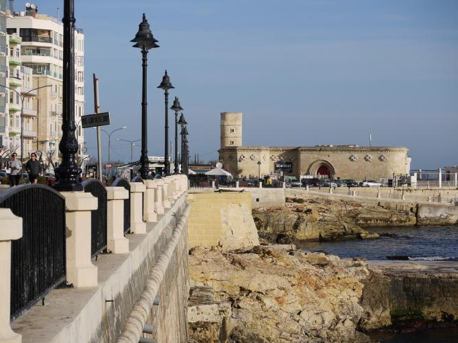 The Promenade and Il-Fortizza in Sliema