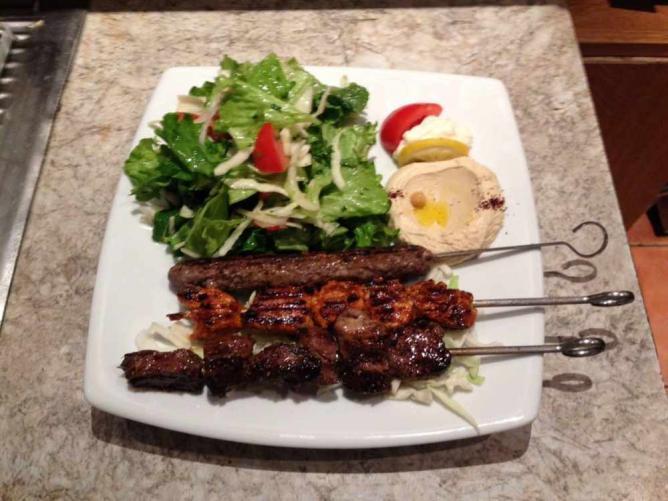 Mixed plate | Courtesy of Les Saveurs du Liban
