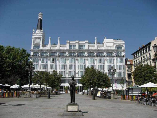 Plaza de Santa Ana | © Gryffindor/WikiCommons