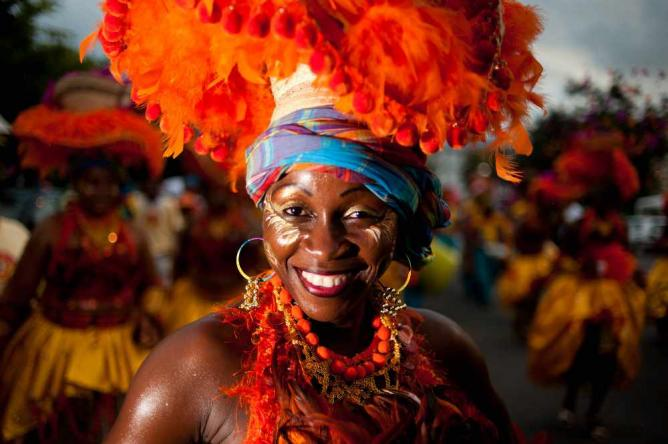 Costume and makeup for Carnival | © Wikimedia