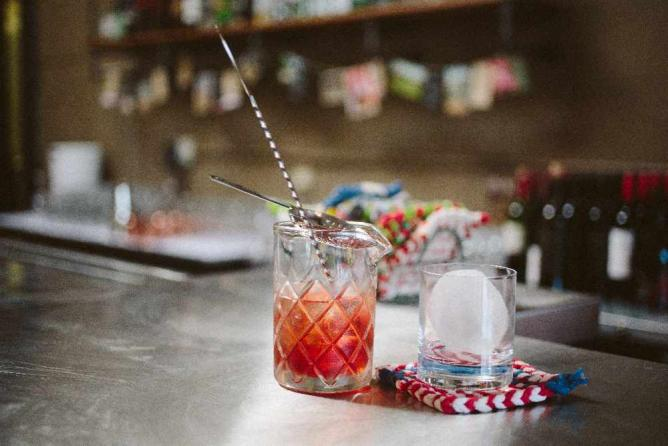 South on Main mixed drink/Courtesy of Arshia Khan and South on Main