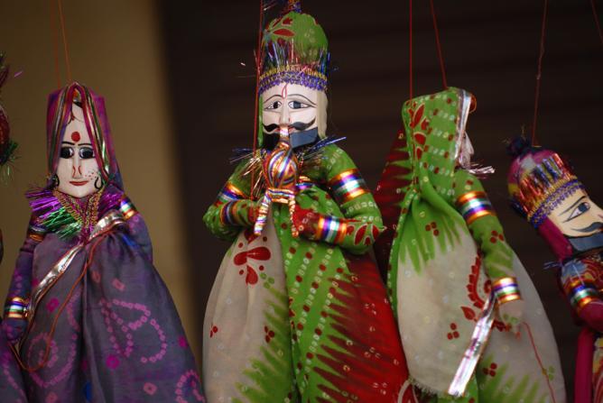 Puppets or Kathputtlis | © Kristian Bertel