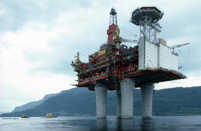 Snapshots Of Life Aboard A Norwegian Oil Rig