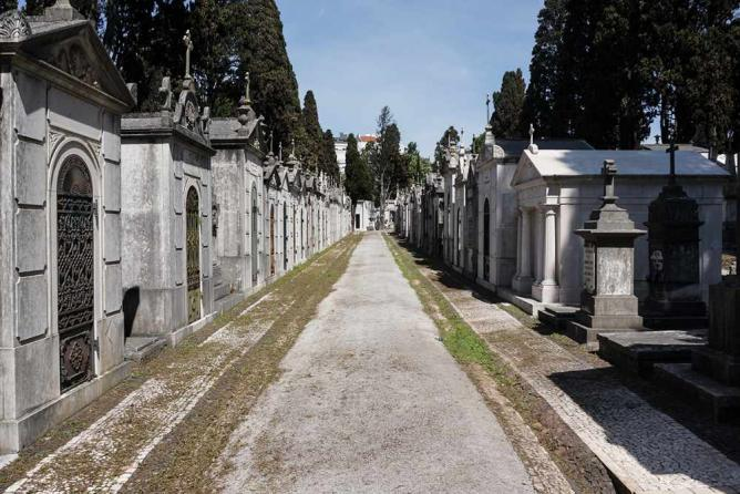 Cemiterio dos Prazeres   Image courtesy of Valeria Nikonova