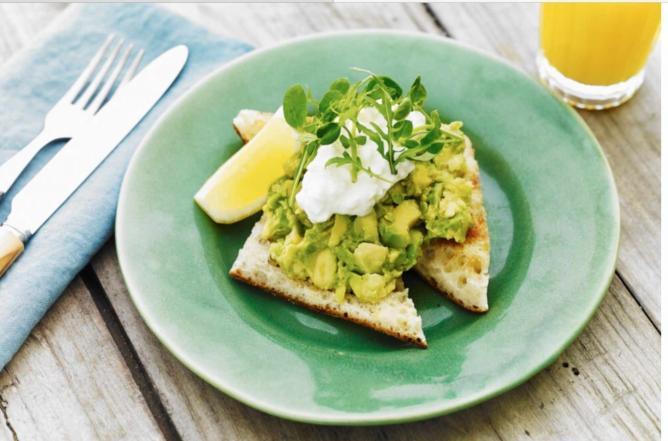 Avocado on toast ©Brew Café
