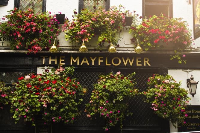 The Mayflower   Courtesy of Lamarr Golding