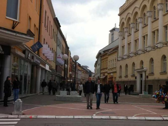 Commercial street in Banja Luka | Ⓒ David Bailey/Flickr