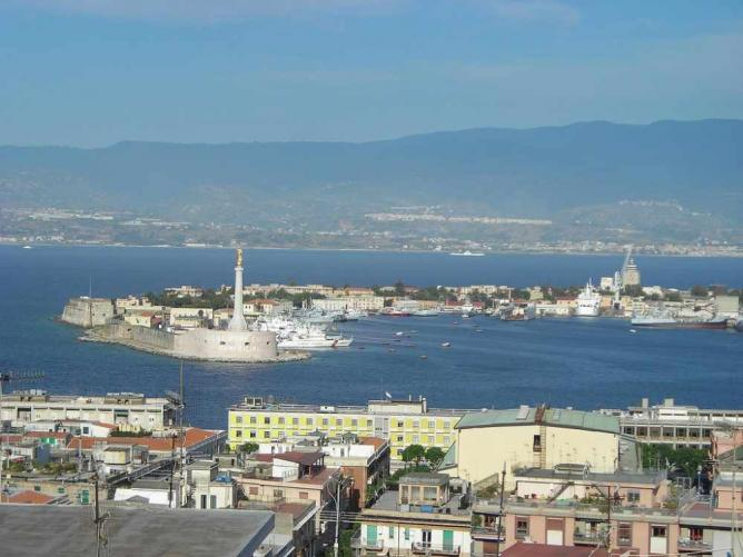 The 'sickle' of Messina
