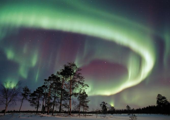 Aurora in Finnish Lapland © Visit Finland/Flickr