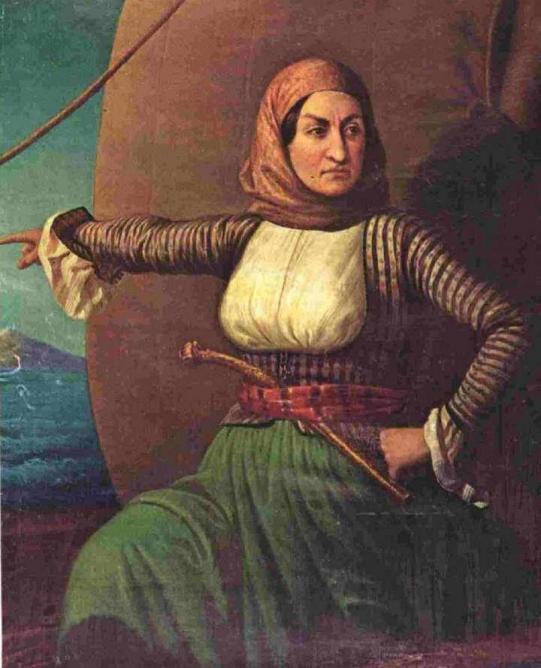 Laskarina Bouboulina   © Sreejithk2000/WikiCommons
