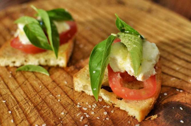 Mmm... Caprese Bruschetta   © jeffreyw/Flickr