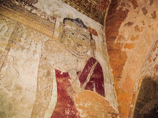 Murals at Bagan, Burma © PWBaker / Flickr