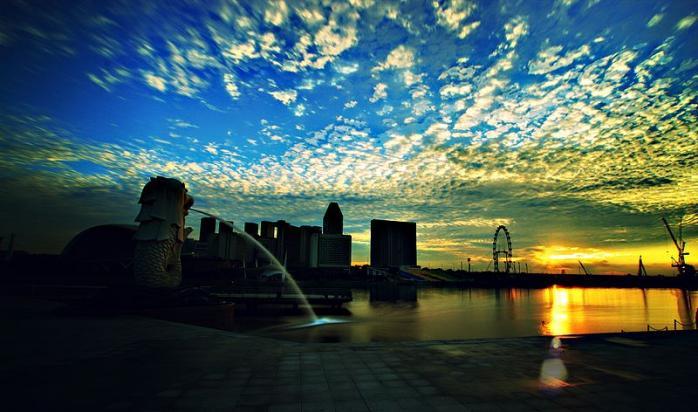 Sunrise in Singapore | © Mohd Kamal/Wikicommons