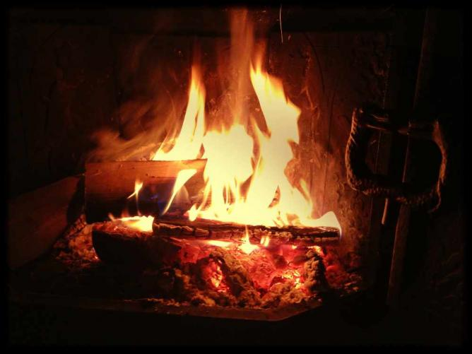 Fireplace © Marcus Ramberg/Flickr