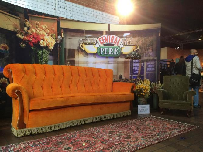 Or head down to Central Perk... You might see Gunther! © Ellie Griffiths
