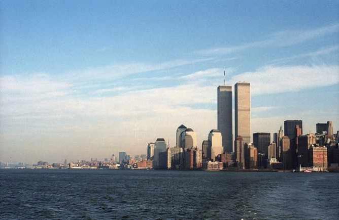Pre-9/11 view of Manhattan | © Lars Plougmann/Flickr