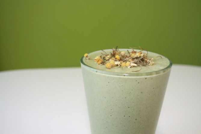 Banana Chamomile Smoothie | © VegaTeam/Flickr