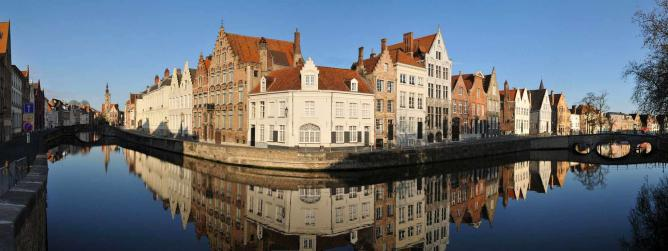 Bruge, the author's place of birth I @WikiCommons