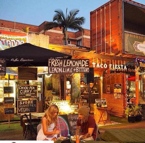 Boundary food stalls | Image courtesy of Boundary Street Markets