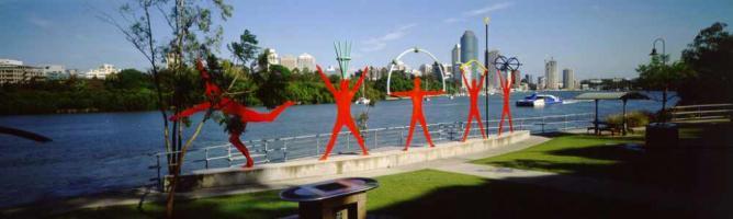 Kangaroo Point public art | © Brisbane City Council/Flickr