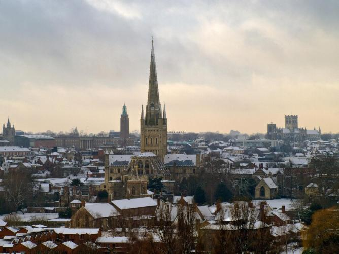 Norwich | © Gerry Balding/Flickr
