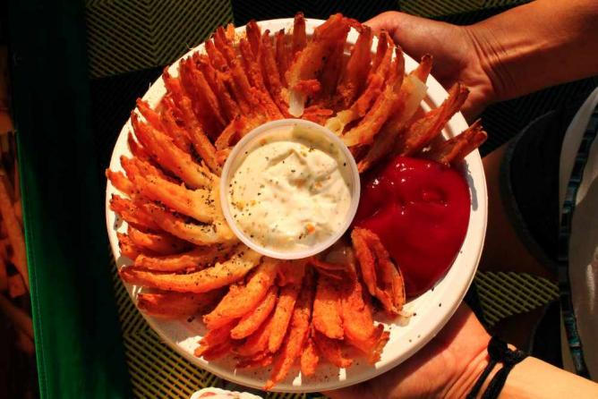 The Blooming Onion