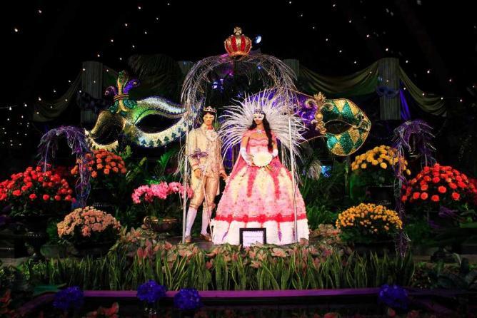 Mardi Gras Exhibit