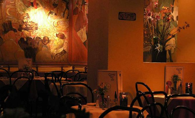 Dining Room of Cluny | Courtesy of Restaurante Cluny