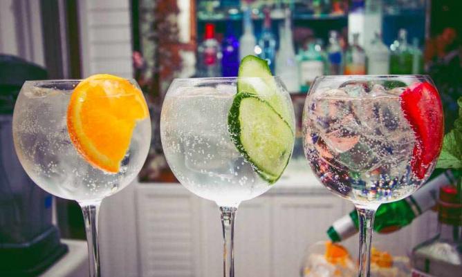 Drinks at Sky Bar