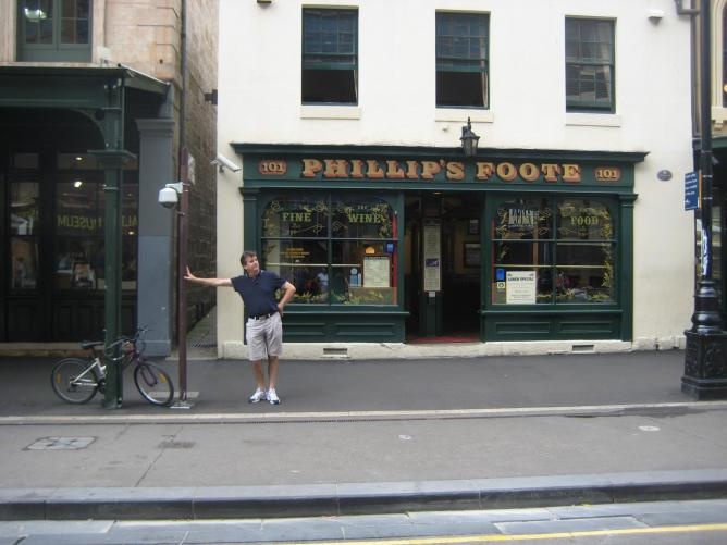 Phillip's Foote, Sydney