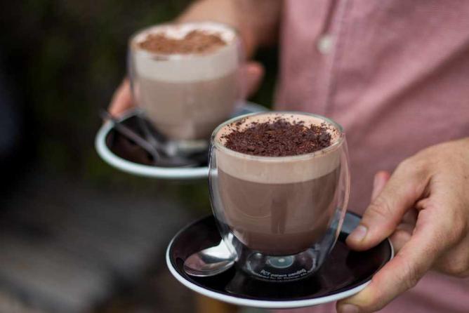 Mocha lattes | Image courtesy of Bunker