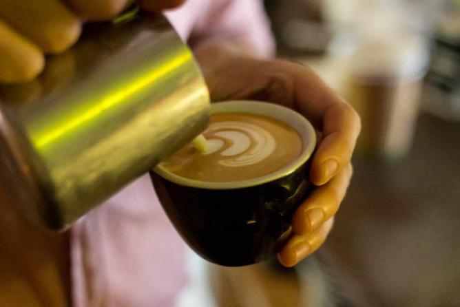 Latte art | Image courtesy of Bunker