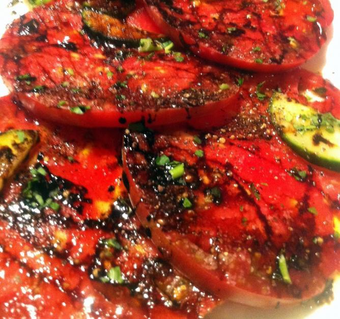 Heirloom Tomato Salad - King's Kitchen restaurant, Charlotte