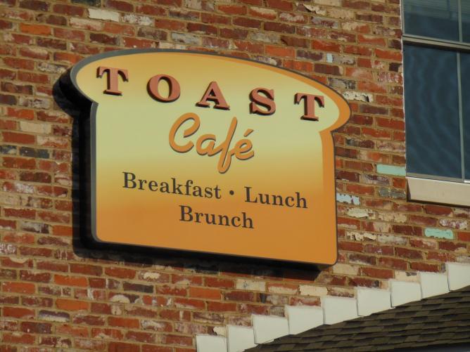 Toast Cafe, Charlotte NC