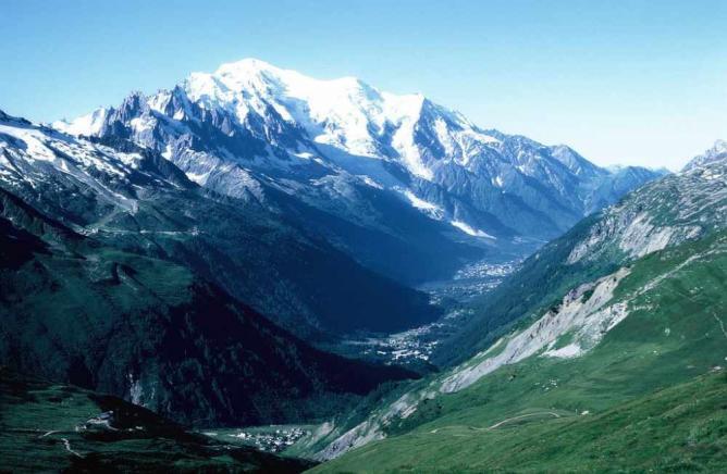 Mont Blanc © Philippe Kurlapski/WikiCommons