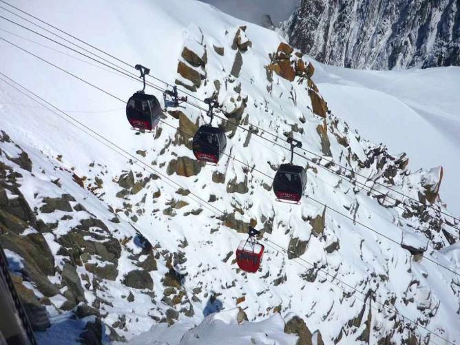 Telecabine Panoramique Mont-Blanc © Rémih/WikiCommons