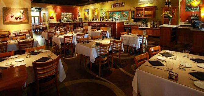Dining Room and Bar | Courtesy of Max's Bistro and Bar
