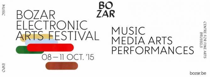 Bozar Eletronic Arts Festival | Courtesy of Bozar