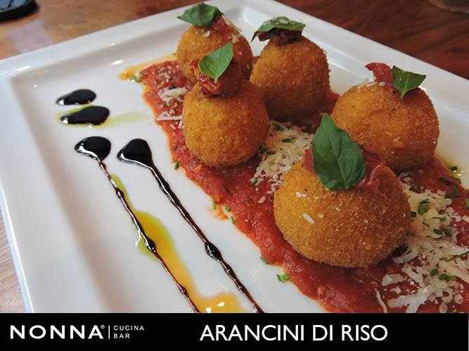 Arancini | courtesy of Nonna