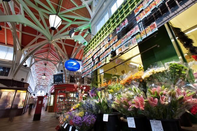 Oxford Covered Market | © Jorge Royan/WikiCommons
