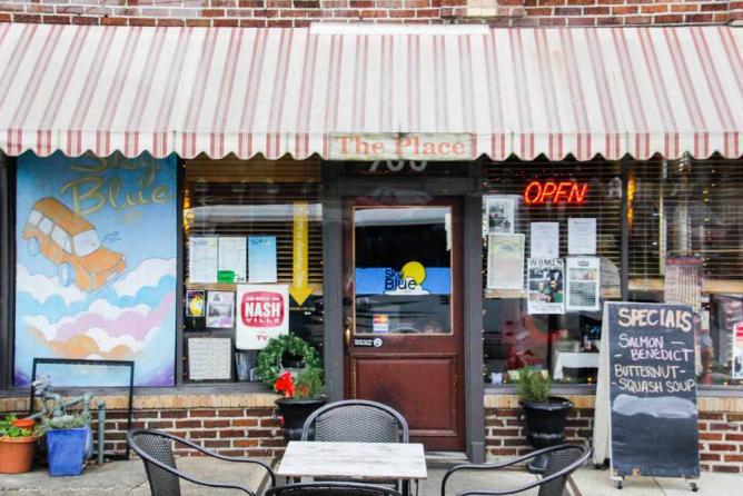 Sky Blue Café
