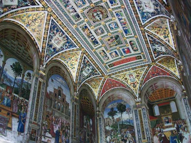 Biblioteca Piccolomini © Joanbanjo/WikiCommons
