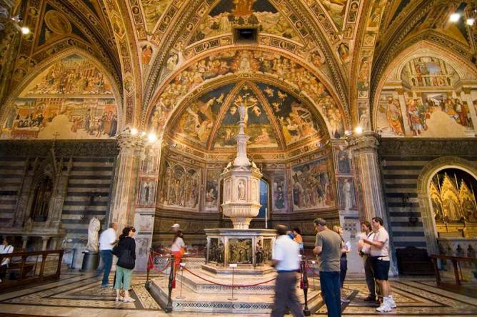Battistero di San Giovanni font © gaspa/WikiCommons