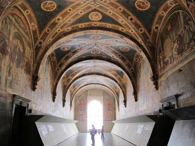 Pilgrims Lane @ Complesso Museale Santa Maria della Scala © Combusken/WikiCommons