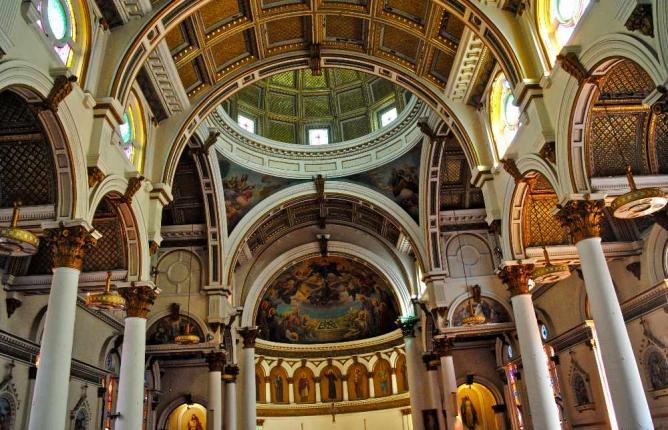 Ceiling of St. Leonard's Church   © Alyssa Erspamer
