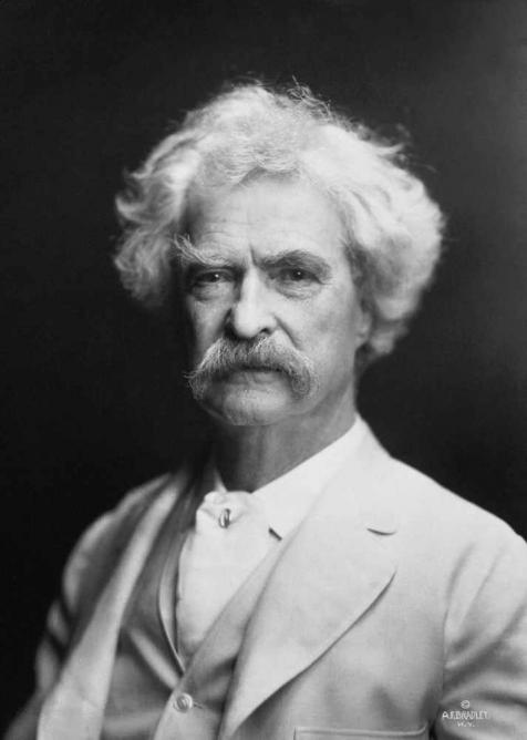 Mark Twain | © A.F. Bradley, New York/WikiCommons
