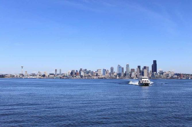 View from ferry | © SounderBruce/Flickr